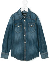 DSQUARED2 denim shirt - kids - Cotton - 4 yrs