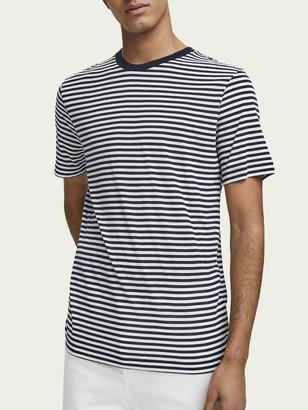 Scotch & Soda Cotton & Lyocell T-Shirt | Men