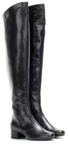 Saint Laurent Babies 40 Leather Over-the-knee Boots