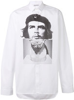 Neil Barrett Che Guevara print shirt - men - Cotton - 39