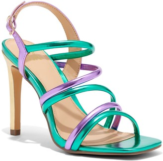 New York & Co. Ankle-Strap High-Heel Sandal