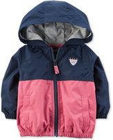 Carter's Hooded Colorblocked Windbreaker Jacket, Baby Boys (0-24 months)