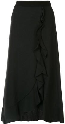 Giambattista Valli Ruffle Trimmed Skirt