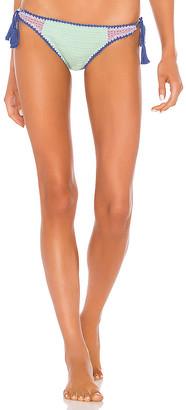 Seafolly Summer Chintz Crochet Tie Side Bikini Bottom