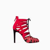 Zara High Heel Ankle Boot Sandal