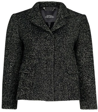 MARC JACOBS, THE Tweed Shaped Jacket w Strass