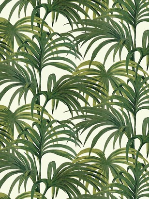 House of Hackney White Palmeral Wallpaper