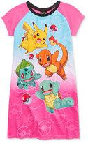 Pokemon Nightgown, Little Girls (2-6X) & Big Girls (7-16)