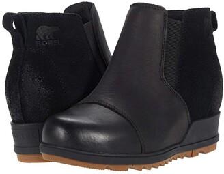 Sorel Evietm Pull-On (Black) Women's Boots