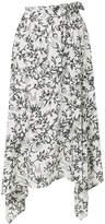 Christian Wijnants floral print skirt