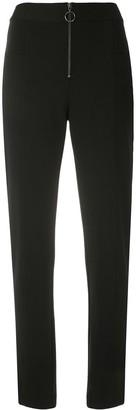 Alcaçuz Tapered Front Zip Trousers