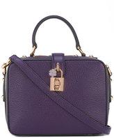 Dolce & Gabbana square padlock shoulder bag