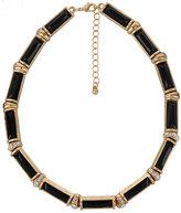 Rhinestone & Opaque Necklace