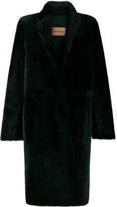 Yves Salomon Longline Shearling Coat