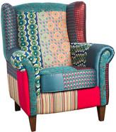 Desigual Patchwork Jacquard Armchair