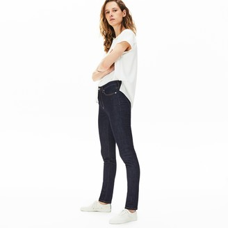 Lacoste Women's Skinny Stretch Cotton Jeans