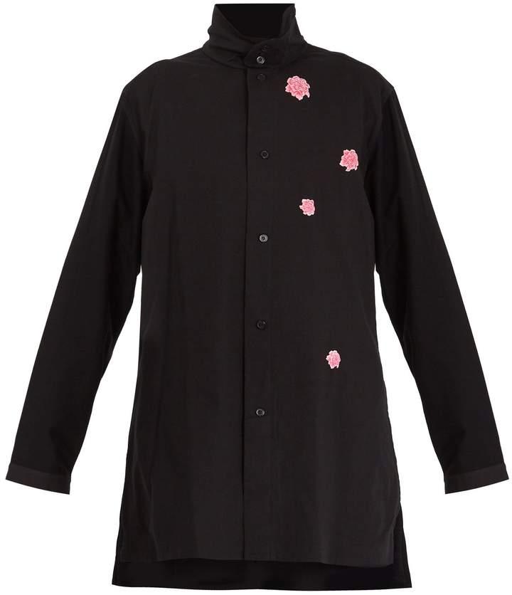 Y-3 X James Harden floral-print cotton shirt