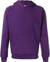 Golden Goose Deluxe Brand logo print hoodie - men - Cotton - XS