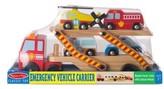 Melissa & Doug Infant Boy's Emergency Vehicle Carrier Set