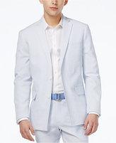INC International Concepts Men's Slim-Fit Seersucker Blazer, Created for Macy's