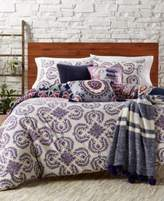 CLOSEOUT! Whim by Martha Stewart Collection Wild Child Reversible 2-Pc. Twin/Twin XL Duvet Set, Cotton/Linen