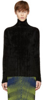 Issey Miyake Black Mole Knit Turtleneck