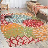 Nourison Aloha Green Indoor/Outdoor Area Rug Rug