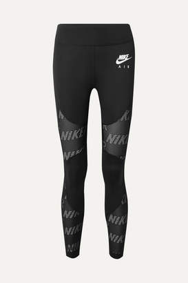 Nike Air Perforated Dri-fit Leggings - Black