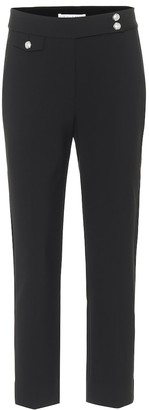 Veronica Beard Renzo high-rise slim cropped pants