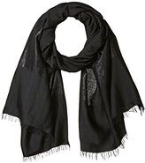 Calvin Klein Women's Lurex Color Block Evening Scarf
