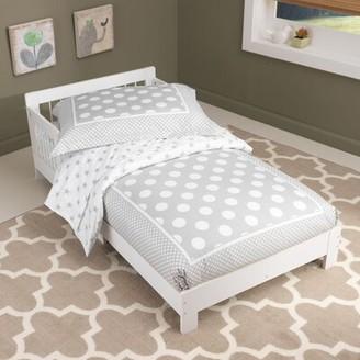 Kid Kraft Houston Toddler bed Color: White