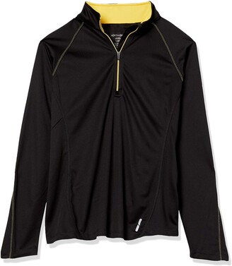 Ashe City Women's RadarHalf-Zip Perf Long Sleeve Pullover Top