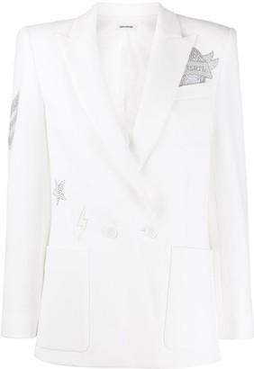Zadig & Voltaire Visko embellished blazer