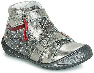 GBB NADETTE girls's Mid Boots in Silver