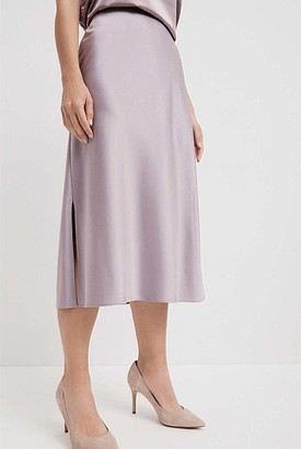 Witchery Satin Slip Skirt