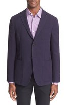 Z Zegna Men's Trim Fit Cotton Blend Blazer