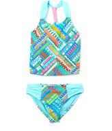 Vigoss Blue Venice Beach Tankini - Girls
