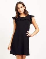 Lipsy Ruffle Mesh Dress