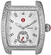 Michele Women's MW02T01A2942 Urban Diamond-Accented Stainless Steel Watch Head