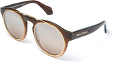 Vivienne Westwood Overstructured Sunglasses Brown VW934S02