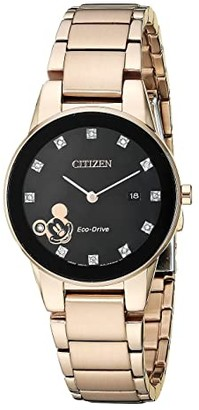 Citizen Mickey Mouse GA1056-54W (Rose Gold Tone) Watches