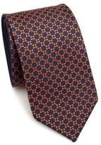 Saks Fifth Avenue COLLECTION Double Face Geometric Silk Tie