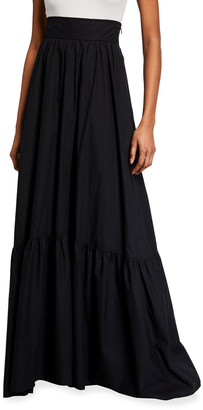 A.L.C. Lila High-Waist Long Skirt