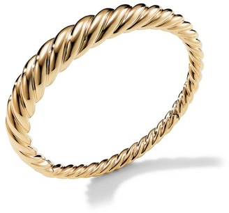 David Yurman Pure Form Cable Bracelet in 18K Yellow Gold/9.5mm