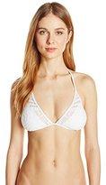 Kenneth Cole New York Women's Deco The Distance Triangle Bikini Top