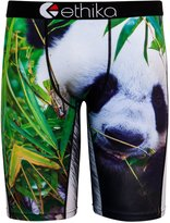Ethika Men's Panda Boxer Brief Underwear Black M
