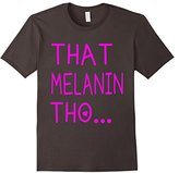 Kids That Melanin Tho T-Shirt - Pink With Love Shirt 8
