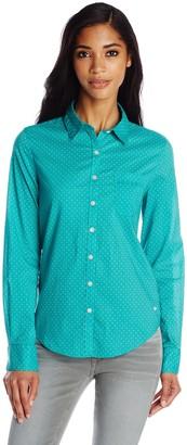 Dockers Women's Perfect Pattern Shirt