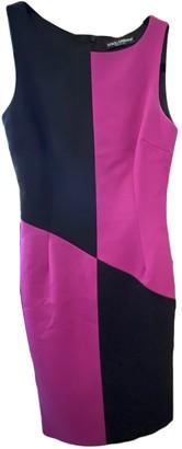 Dolce & Gabbana Purple Wool Dresses
