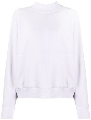 YMC Mock Neck Cotton Sweatshirt